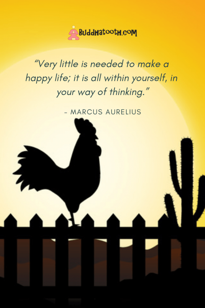 inspirational quote about happy life