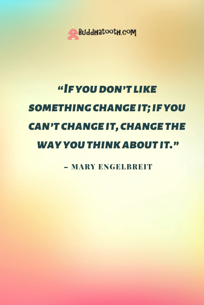 inspirational quote about changes